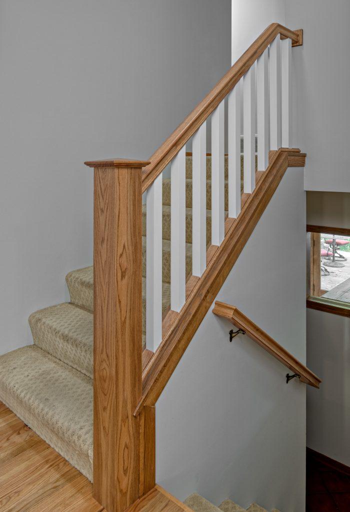 Oakwood stairs